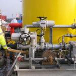 Pelton Wheel Driven Foam Concentrate Pump