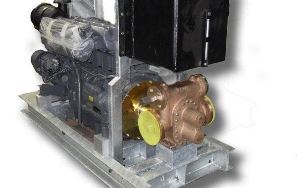 Diesel Powered Fire Foam Pump