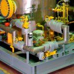 Albany Gear Pump working on compressor lubrication